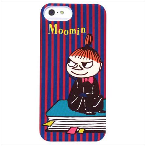 ムーミンiphone5ケースお洒落なボーダー模様が魅力的なミイがデザイン